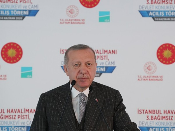 Турският президент Реджеп Тайип Ердоган заяви днес, че Анкара не
