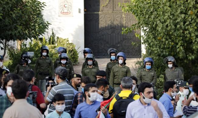 Полицията арестува протестиращи срещу Нетаняху