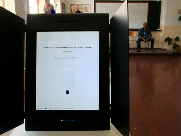 Възможно е да се осигури машинният вот за редовните избори