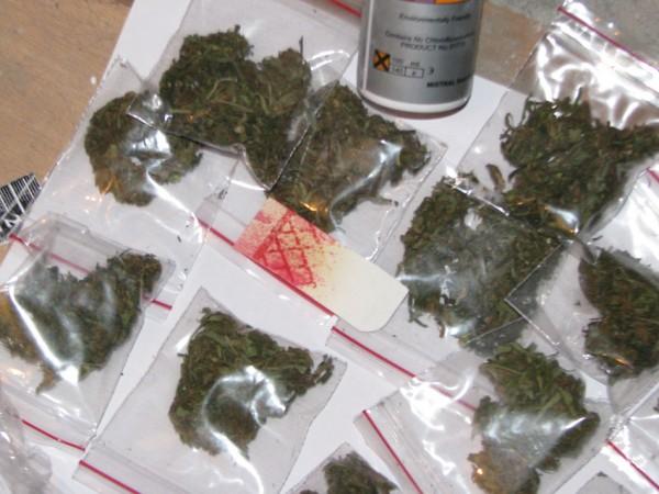 """Солидно количество марихуана бе иззето от служители на група """"Криминална"""