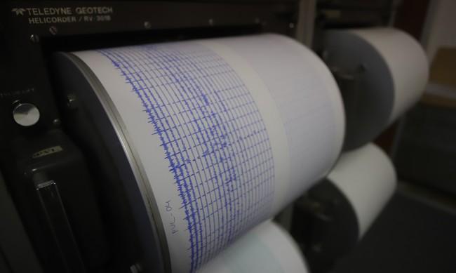 Земетресение в Гърция малко преди полунощ