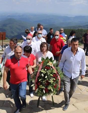 Нинова: Шипка е връх на българското достойнство