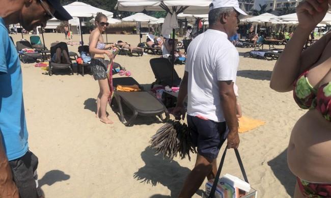 Аеробика за устата на плажа - чироз вместо семки и царевици