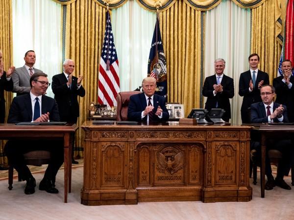 Сърбия и Косово се съгласиха да нормализират икономическите си отношения,