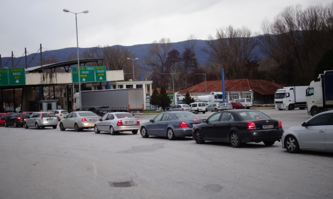"""Натоварен трафик и на граничен пункт """"Кулата"""""""