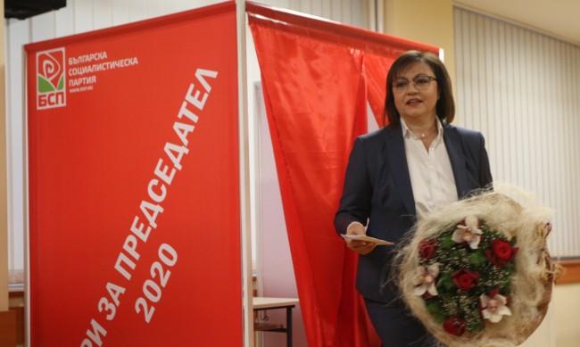 Eкипът на Корнелия Нинова обяви категорична победа в БСП