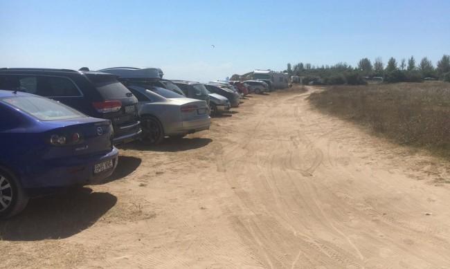 Проверка хвана нарушители на място, паркирали на Болата