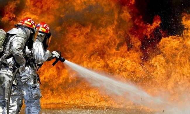Избухнал е пожар в бургаското село Граничар