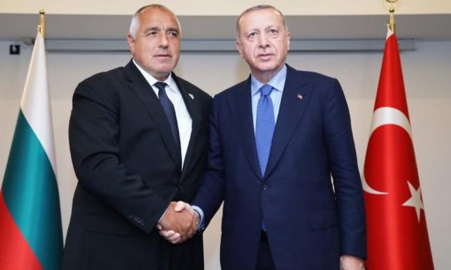 Борисов е говорил по телефона с турския президент Ердоган