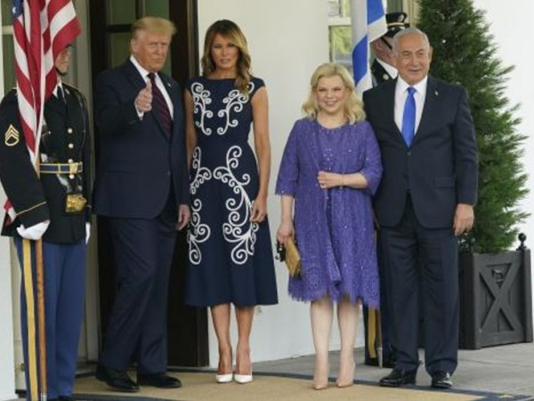 Доналд Тръмп и съпругата му Мелания Тръмп посрещнаха министър-председателя на