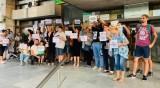 Жители на Труд протестират заради биоцентралата край селото
