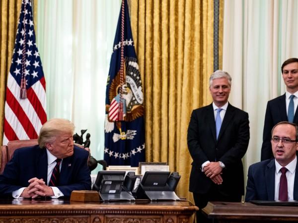 Косово ще награди президента на САЩ Доналд Тръмп с най-високото