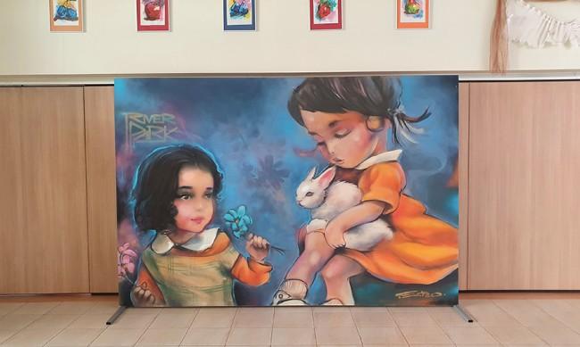 River Park дари картини на най-добрите графити артисти на столични училища и детски градини