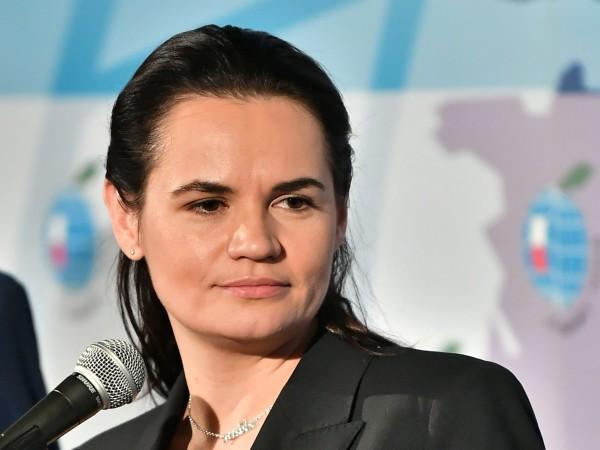 Беларуската опозиционна лидерка Светлана Тихановская призова по време на дискусия