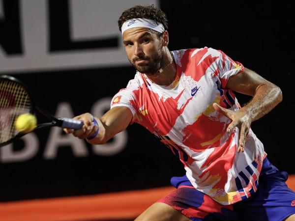 Григор Димитров беше близо до своя втори полуфинал в Рим,