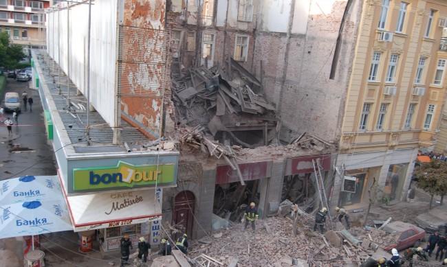 Над 50 опасни сгради в центъра на София