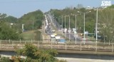 """Недоволни шофьори край """"Дунав мост"""": Никакви условия, стоим като кучета на пътя"""