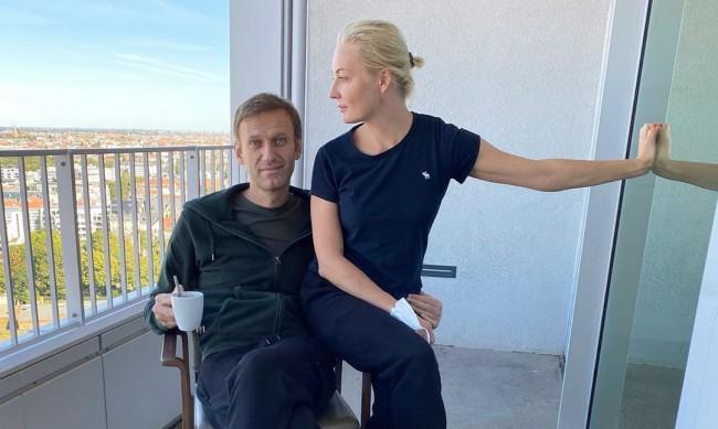 Навални: Юля, ти ме спаси и нека това да бъде записано в учебниците по неврология