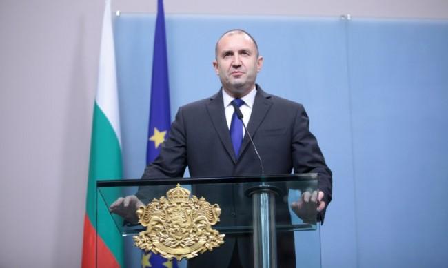 Радев с призив към българите да поемат съдбата си в свои ръце