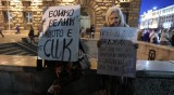 Протестът - на войнстващо малцинство с агресивни говорители