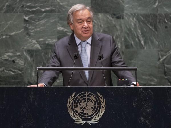 Генералният секретар на ООН Антониу Гутериш откри годишната сесия на