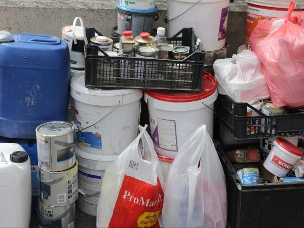 Общо 196 кг опасни битови отпадъци са предадени за два