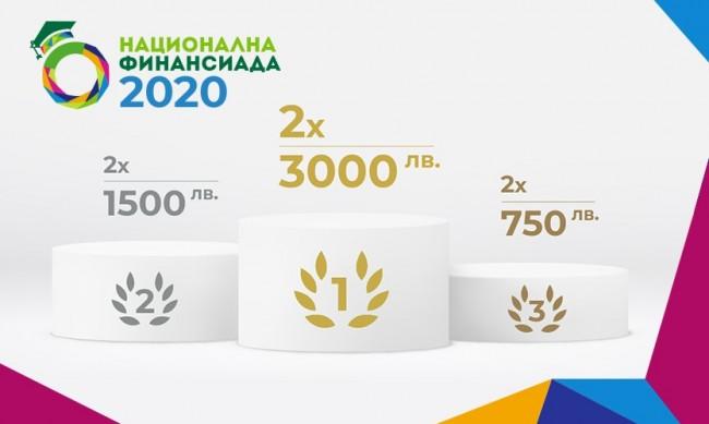 """Финалът на """"Национална финансиада"""" 2020 ще бъде проведен онлайн"""