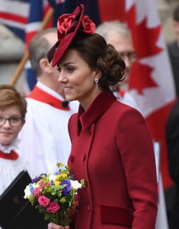 Кейт Мидълтън с аутфит, вдъхновен от принцеса Даяна
