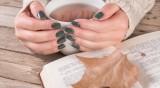 Есенен маникюр - как да използвате цвета каки?