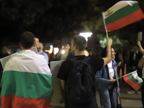 За 78-ма вечер жители на София излязоха на протест с
