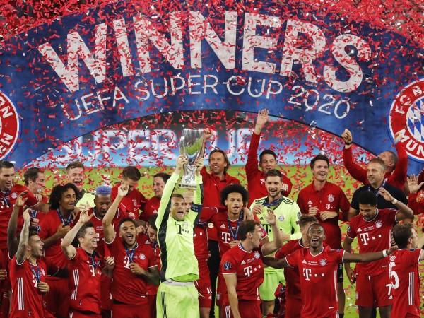 Набралият бясна скорост Байерн Мюнхен грабна и Суперкупата на УЕФА,