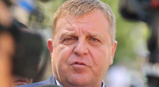 Каракачанов: Служебно правителство в момента - няма как