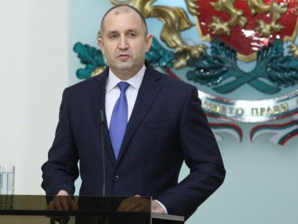 Държавният глава Румен Радев изпрати днес съболезнователно писмо до своя