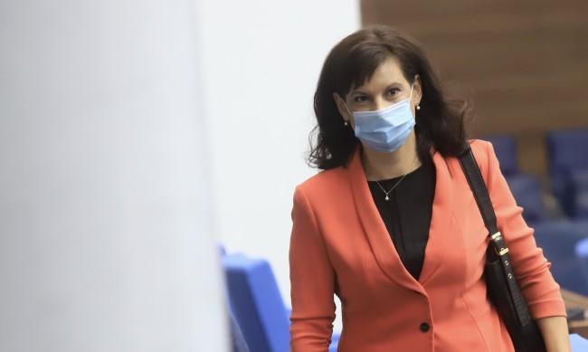 Дариткова: Цветанов печели дивиденти с анти-ГЕРБ реторика