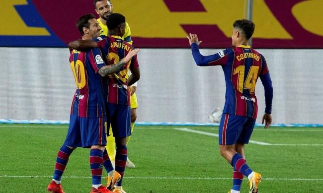 Барселона начело с Куман стартира с разгромна победа