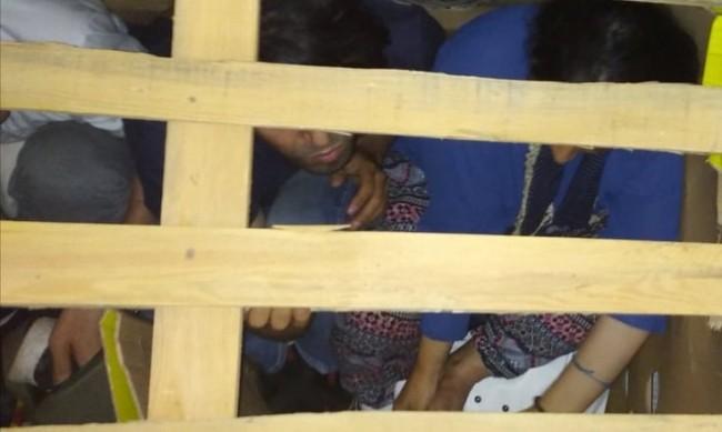 """Арестуваха мъж за трафик на мигранти след гонка на """"Тракия"""""""
