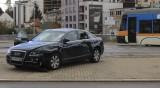 ПТП между линейка и автомобил в центъра на София