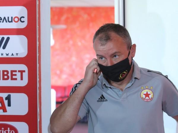 Треньорът на ЦСКА Стамен Белчев е оптимист преди гостуването на