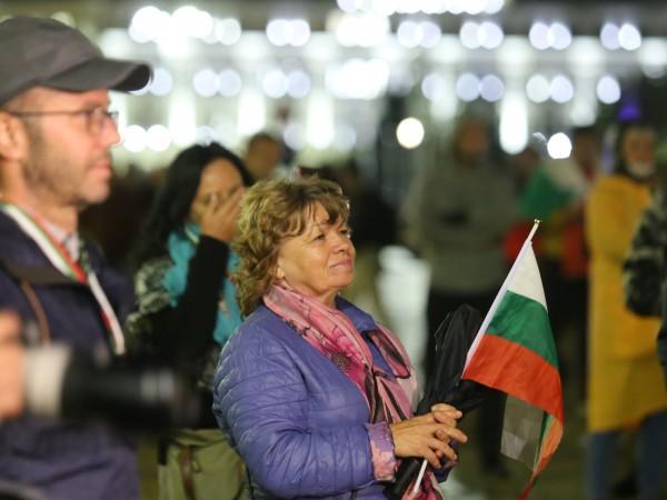 За 84-та вечер в София се провежда антиправителствен протест, организиран