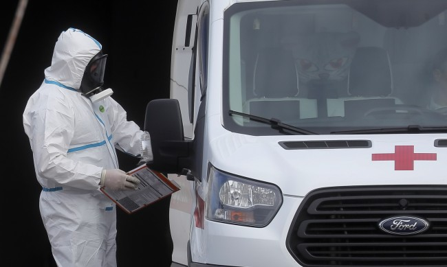 169 жертви на вируса в Русия за 24 часа
