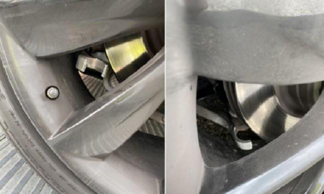 При движение с 200 км/ч окачването на Tesla Model S се чупи