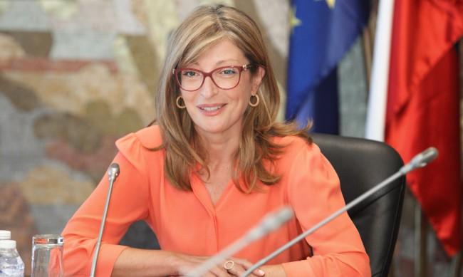 Захариева се среща с македонския министър на външните работи