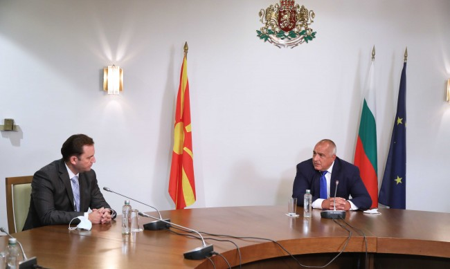 Борисов иска компромисно решение със Северна Македония до 10 ноември