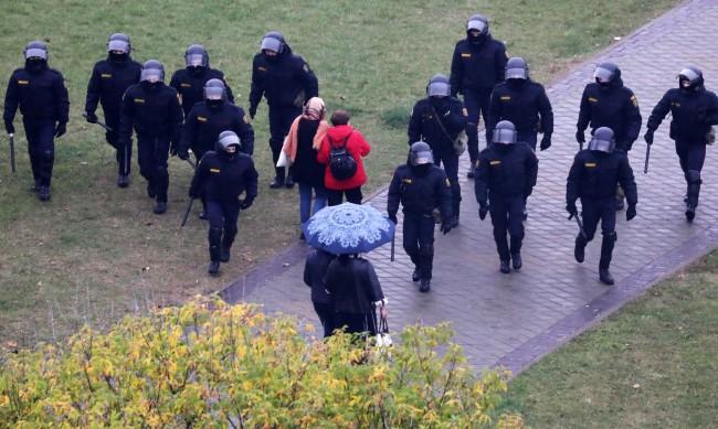 Над 500 души са били задържани след вчерашните протести в Беларус