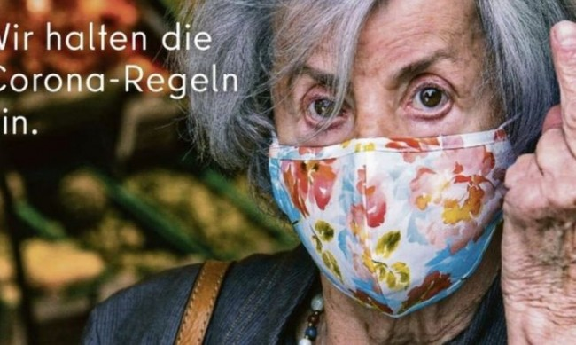 """Берлин """"показва среден пръст"""" на хората, които не носят маски"""
