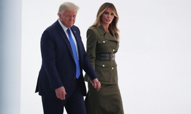 Есенни рокли: Какво избра Мелания Тръмп?