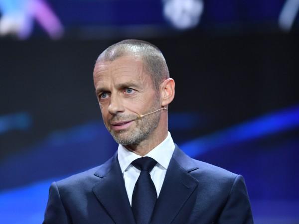 Президентът на УЕФА Александър Чеферин е уверен, че отложеното за