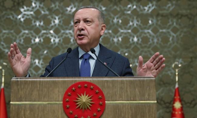 Ердоган обвини Русия, Франция и САЩ, че подкрепят Армения