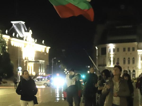 102-ра вечер на антиправителствени протести с искане за оставката на