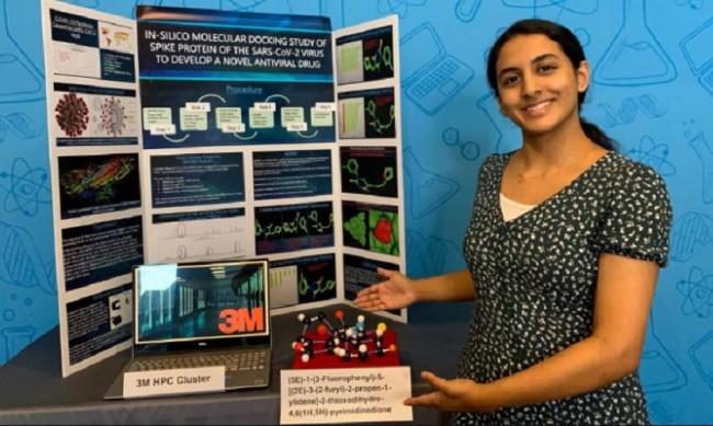 14-годишната Аника, която направи пробив в лечението на коронавируса